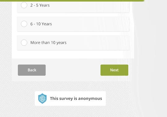 Anonymous Survey Label