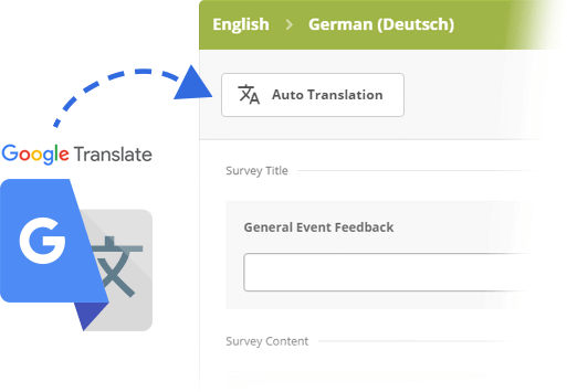 Automatically Translate your Survey with Google Translate