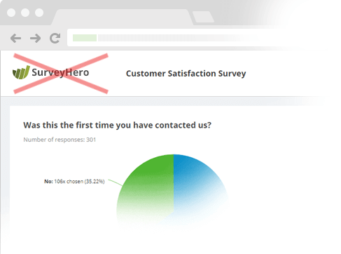 Remove any reference to SurveyHero