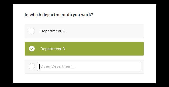 Multiple Choice (Single Answer)