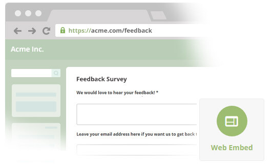 Embed Survey