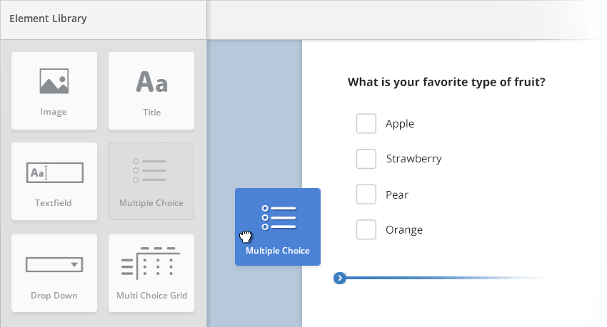 Easily create your online survey