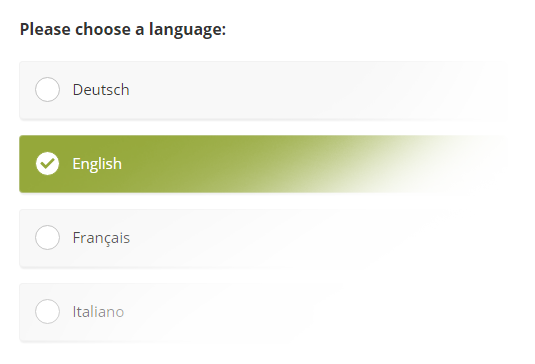 Multi Lingual Survey Example